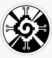Hunab Ku Mayan Symbol Sticker