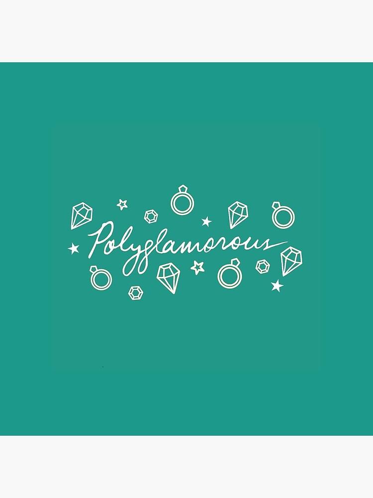 Polyglamorous Teal by polyphiliashop