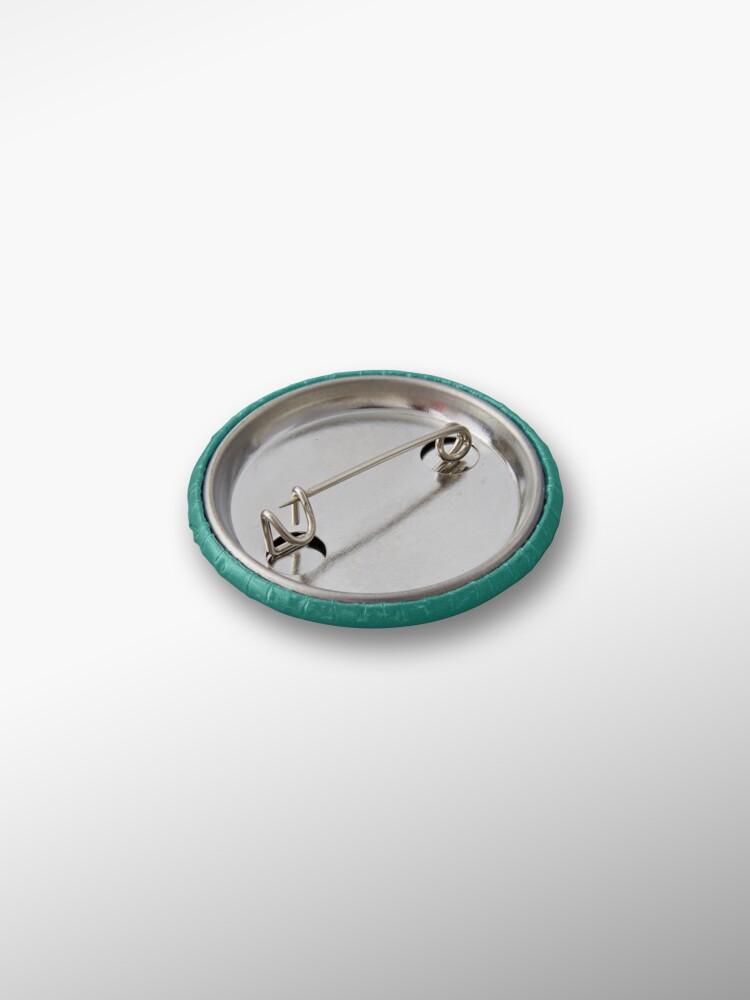 Alternate view of Polyglamorous Teal Pin