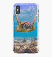Joyful turtle iPhone Case/Skin