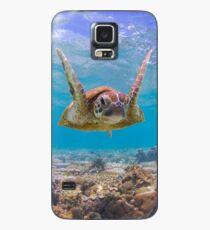 Frohe Schildkröte Hülle & Klebefolie für Samsung Galaxy