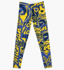 University of Michigan collage Leggings