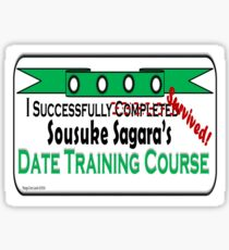 Date Training Course Sticker