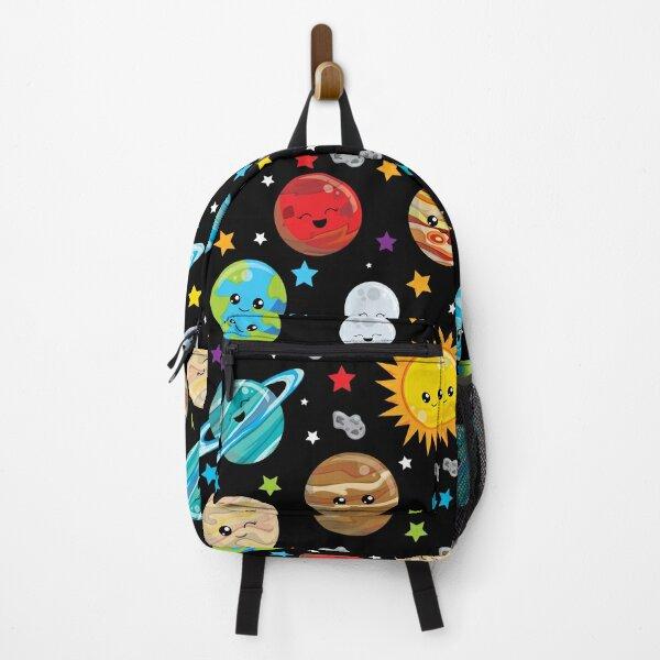 Kawaii Planets Cute solar system Backpack