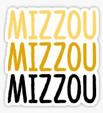 Mizzou Mizzou Mizzou Sticker
