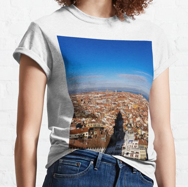 The shadow of the tower Classic T-Shirt