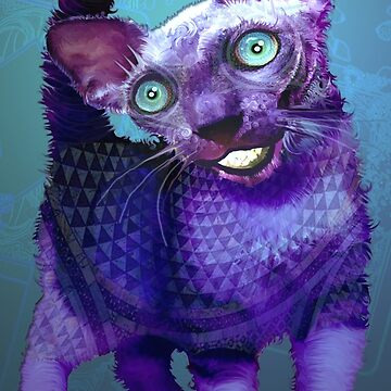 Cheshire Kitten by ELeggett