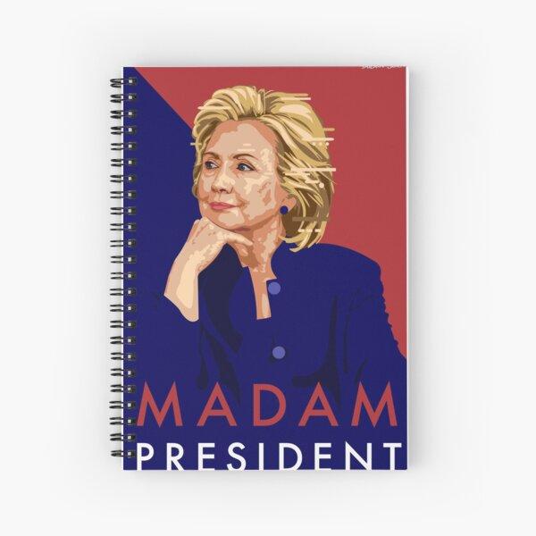 Hillary Illustration Spiral Notebook