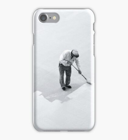 I wonder if he knows the impact his work will have on so many... iPhone Case/Skin