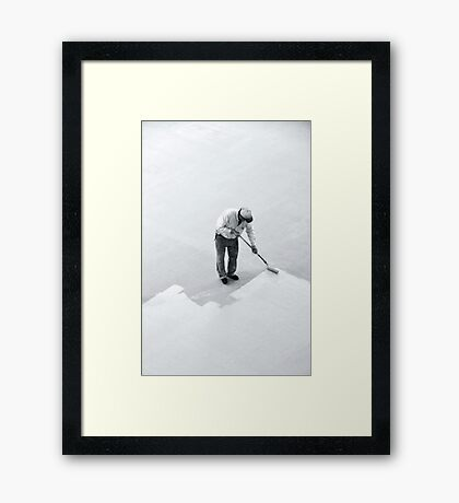 I wonder if he knows the impact his work will have on so many... Framed Print