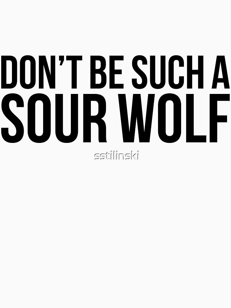 Sour Wolf - black text | Women's T-Shirt
