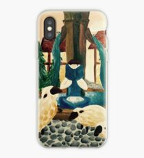 Belle Reading a book iPhone Case
