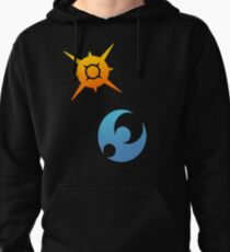 Pokemon Sun and Moon Symbols Pullover Hoodie