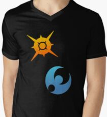 Pokemon Sun and Moon Symbols T-Shirt