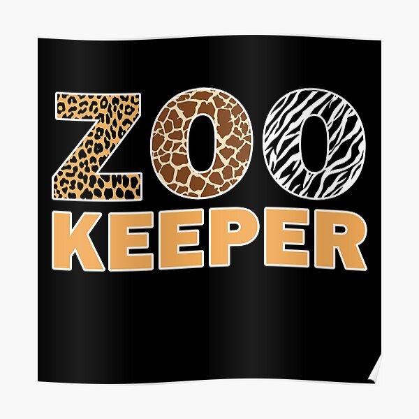 Zookeeper African Savanna Poster