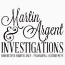Martin & Argent Investigations by sstilinski