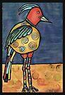 Lolly legged bird by Jenny Wood