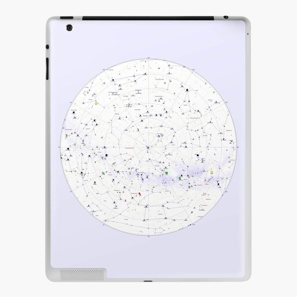 Constellation Map, mwo,x1000,ipad_2_skin-pad,1000x1000,f8f8f8