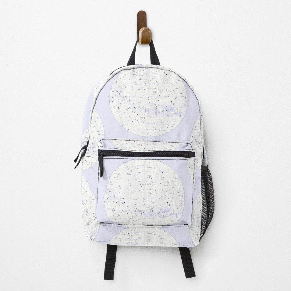Constellation Map, ur,backpack_front,square,1000x1000