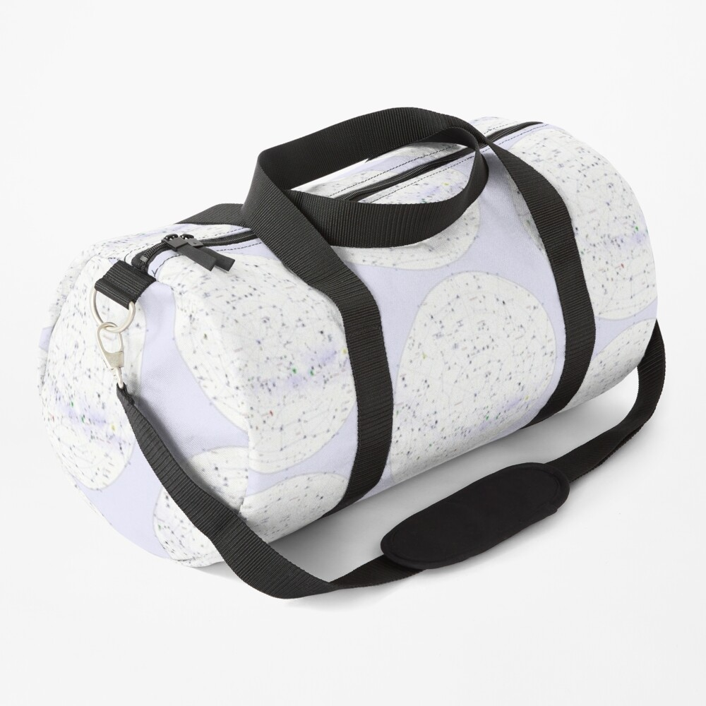 Constellation Map, ur,duffle_bag_small_front,square,1000x1000