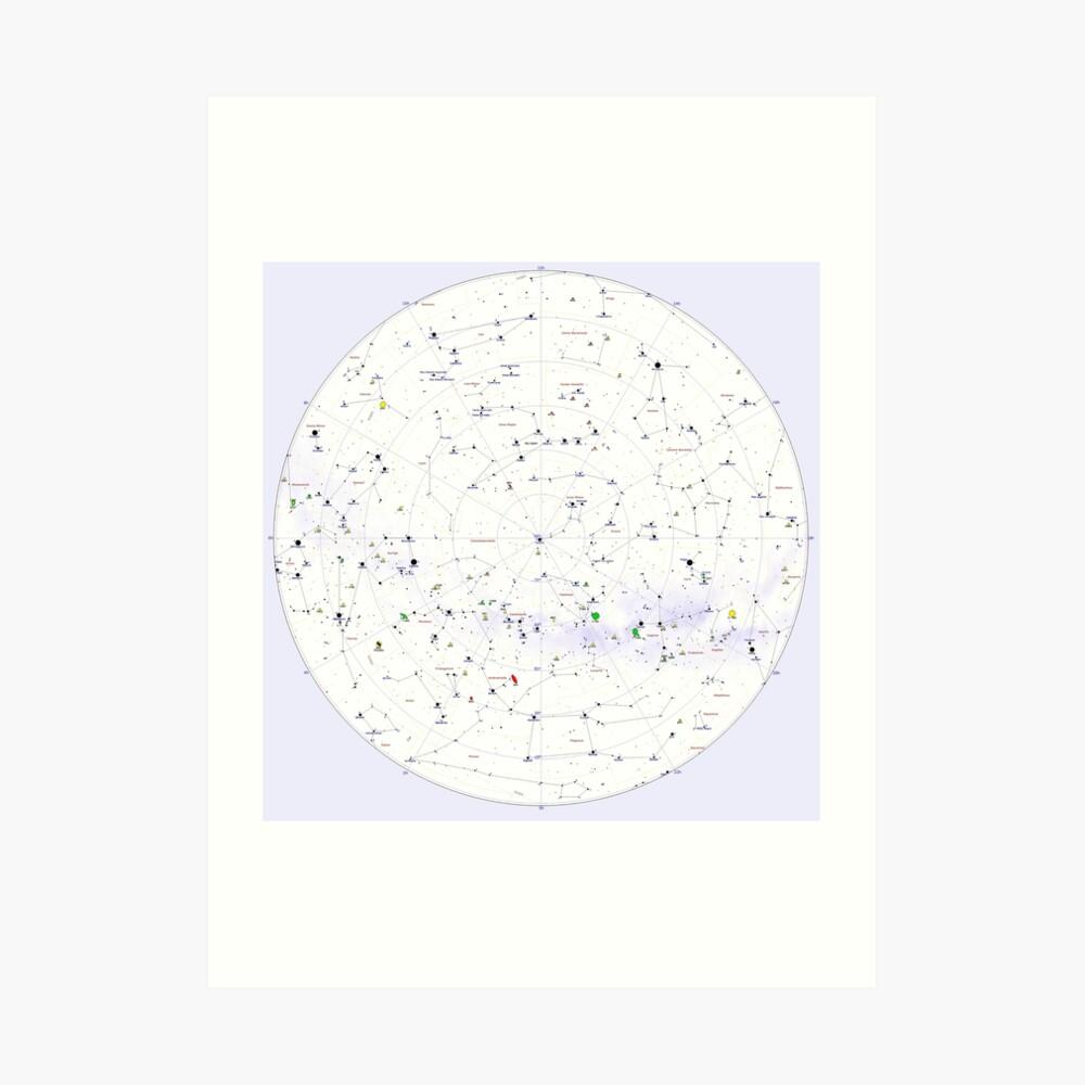 Constellation Map, aps,840x830,small,transparent-pad,1000x1000,f8f8f8