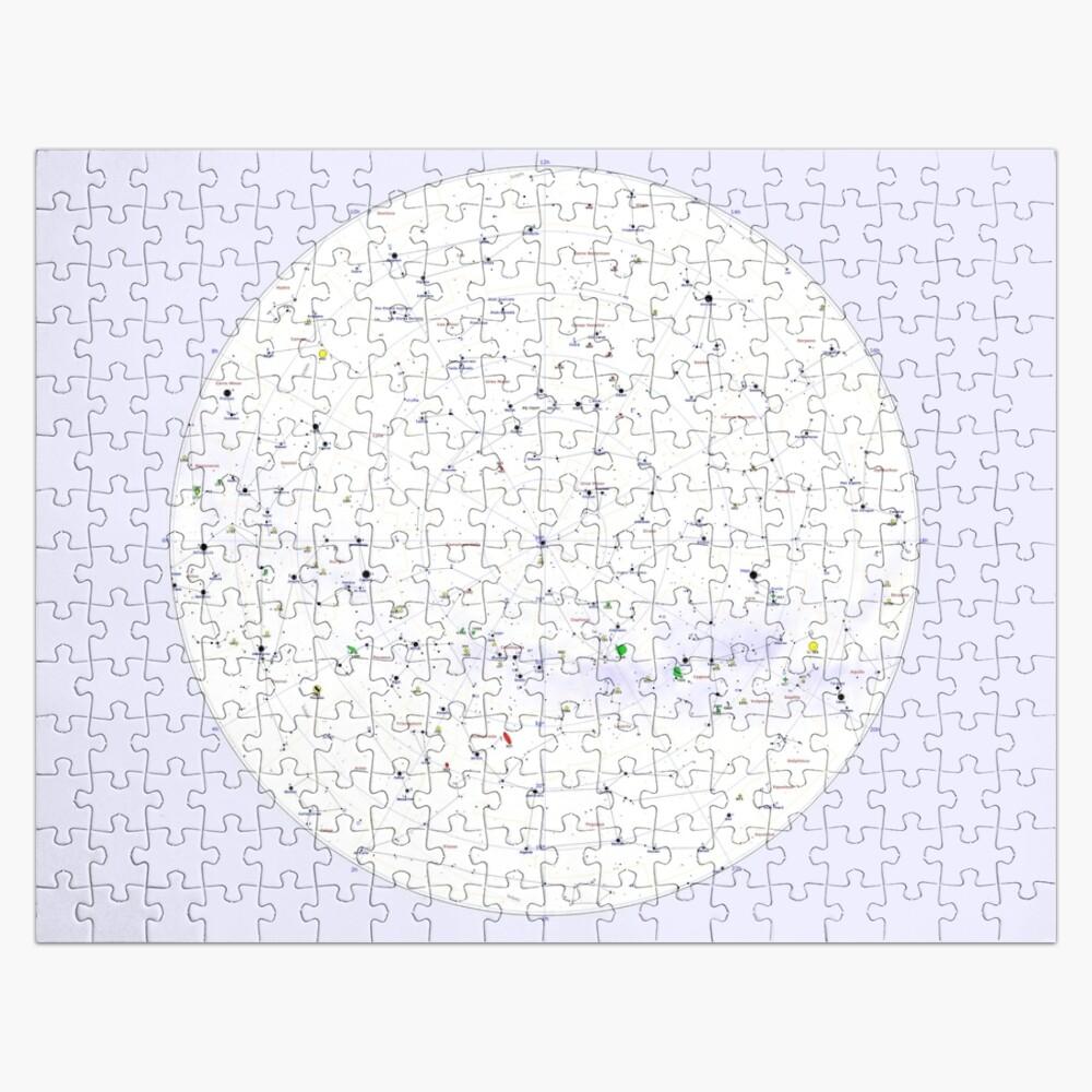 Constellation Map, ur,jigsaw_puzzle_252_piece_flatlay,square_product,1000x1000-bg,f8f8f8