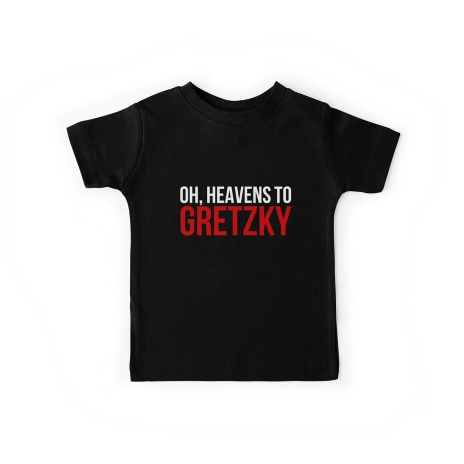 Heavens to Gretzky (white&red text) by sstilinski