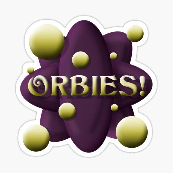 Orbies! Sticker