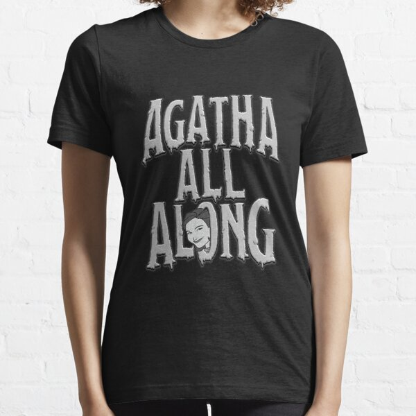 Agatha Harkness super soft cotton girls shirt for her Agatha All Along Meme Shirt for women WandaVision Fan Inspired Shirt