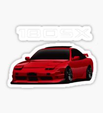 nissan 180sx type x Sticker