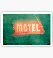 Old Motel Sticker