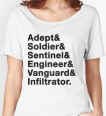 Mass Effect classes (v1) Women's Relaxed Fit T-Shirt