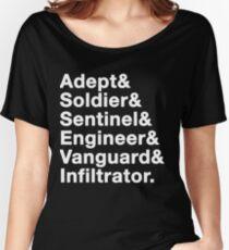 Mass Effect classes (v2) Women's Relaxed Fit T-Shirt