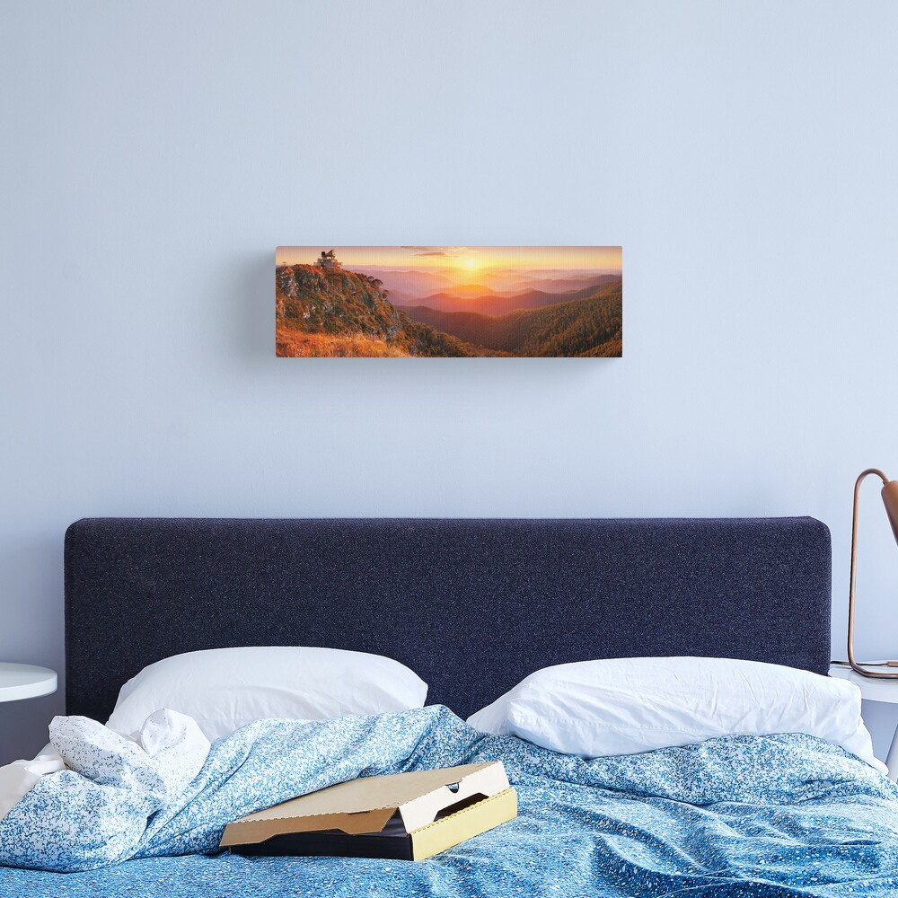 Pinnacles Fire Lookout, Alpine National Park, Victoria, Australia Canvas Print