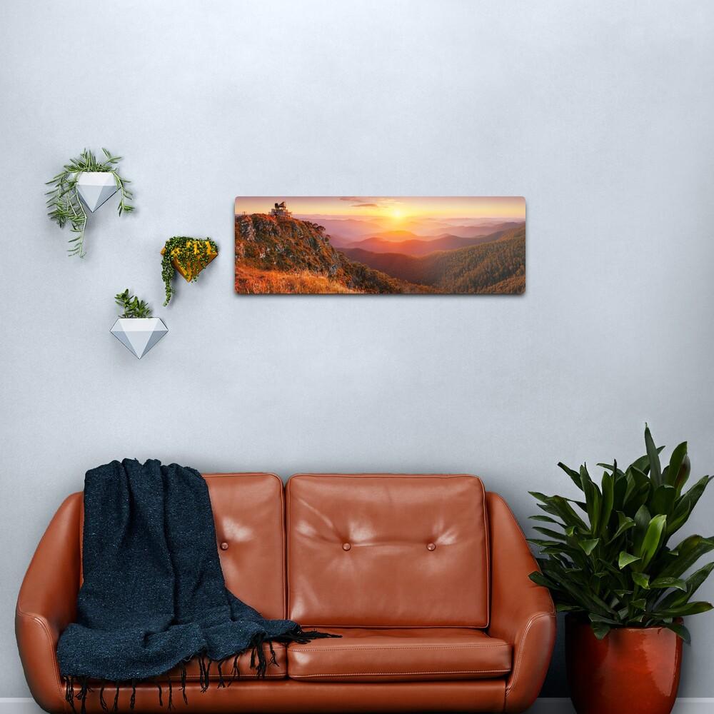 Pinnacles Fire Lookout, Alpine National Park, Victoria, Australia Metal Print
