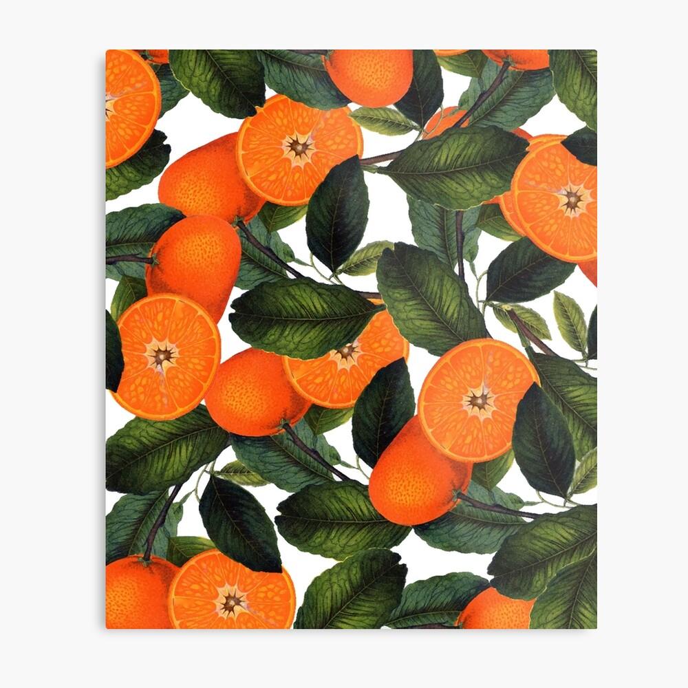 Die Verbotene Orange #redbubble #lifestyle Metallbild