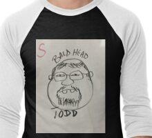 Bald Head Todd Men's Baseball ¾ T-Shirt