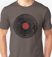 Vinyl Record Vintage Grunge Retro Unisex T-Shirt