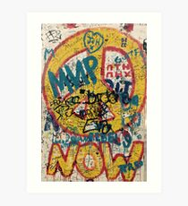 the berlin wall Art Print