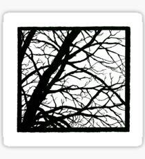 Tree Shadow Sticker