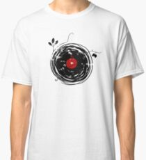 Cool Grunge Enchanting Vinyl Records Vintage Classic T-Shirt