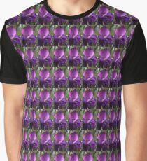 Purple Gladness Graphic T-Shirt