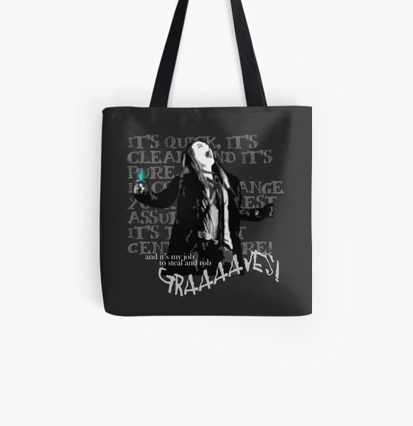 Graverobber All Over Print Tote Bag