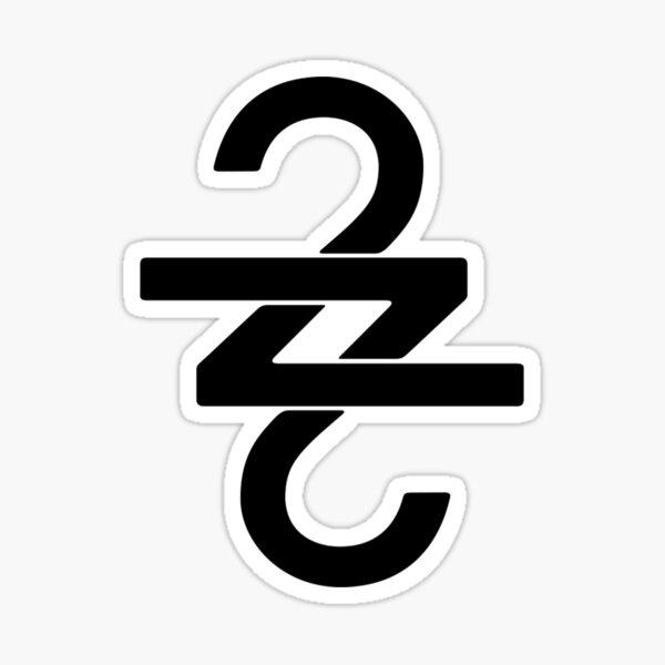 Bon Iver 22, A Million symbol Sticker