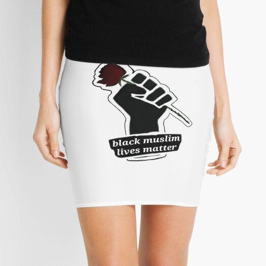 Black muslim lives matter Mini Skirt