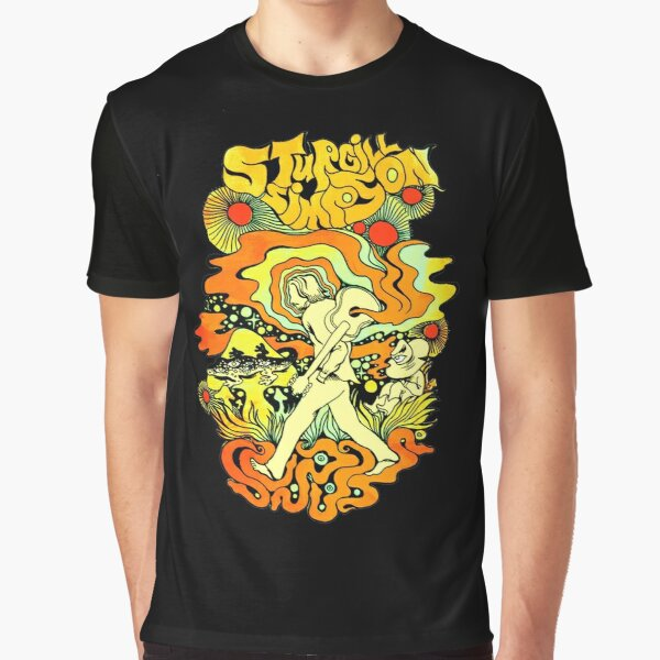 STURGILL SIMPSON Graphic T-Shirts , 1 American country music singer-songwriter and actor Graphic T-Shirt