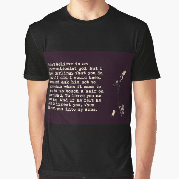 Nick Cave Quote Je-m énormément critique dans la tournée du matin cite Nick Cave populaire T-shirt graphique