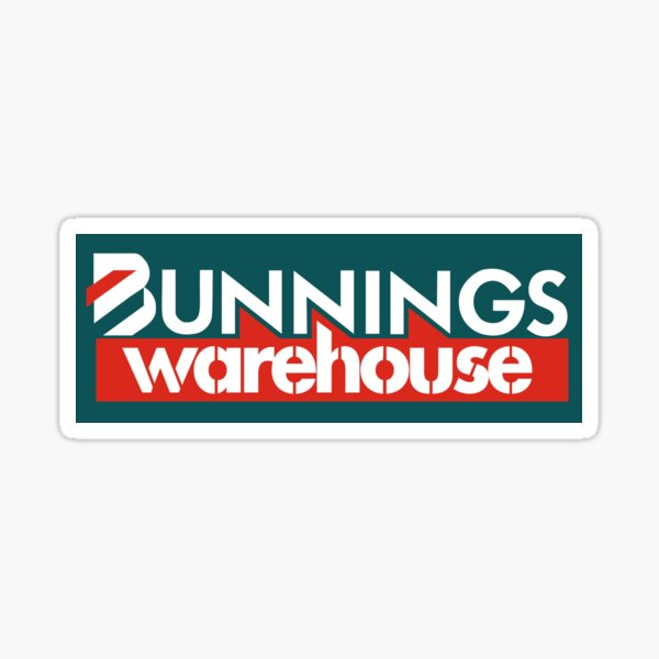 BW company Logo Sticker