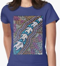 Turtle Dreaming Women's Fitted T-Shirt