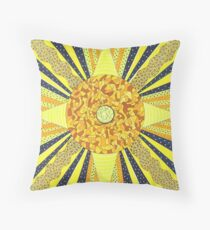 Sunday's Planet is the Sun Throw Pillow